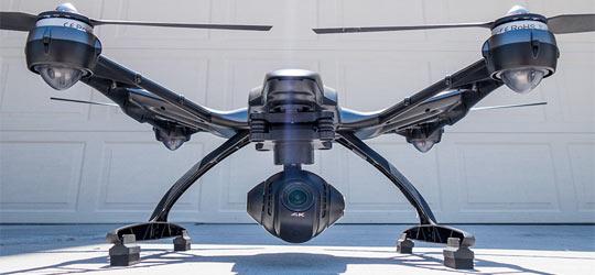 Yuneec Typhoon q500 4k dron