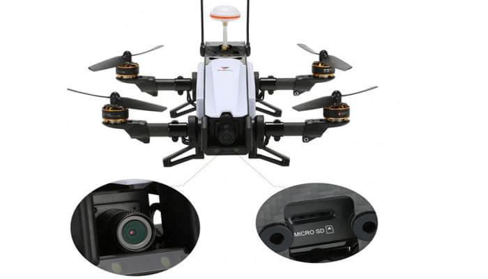 kamera kvadrokoptera Walkera Furious 320