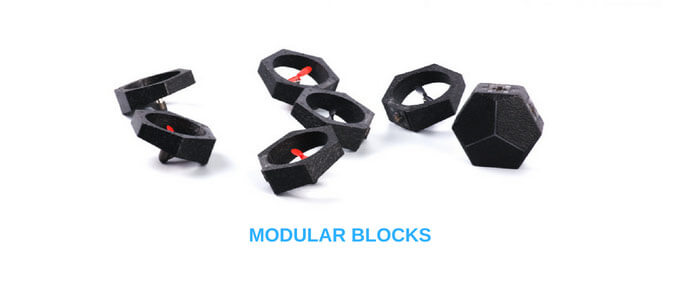 bloki kvadrokoptera Airblock