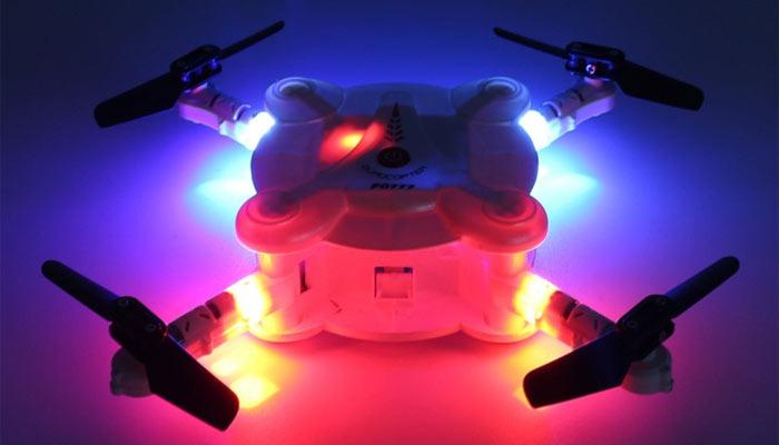 Eachine E55 dron nochyu