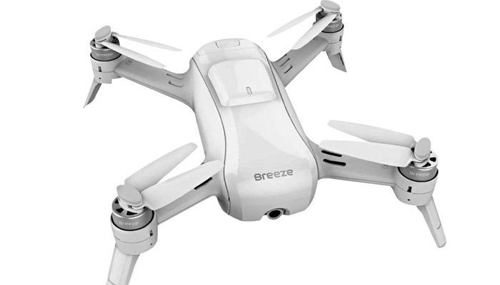 selfi dron yuneec breeze 4k