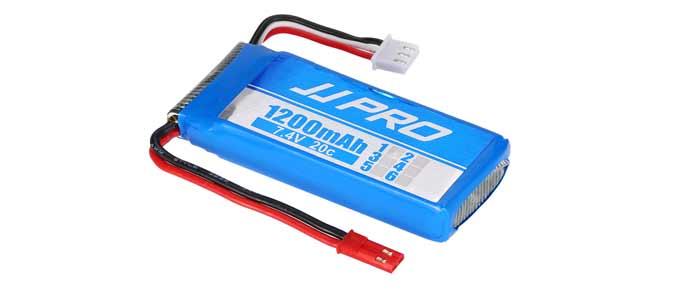 JJPRO X2 akkumulyator