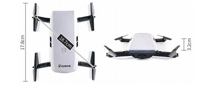 Eachine E56 razmery drona