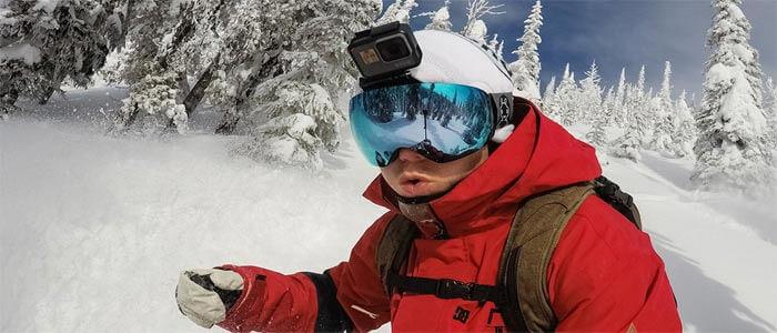 GoPro HERO6 na shleme