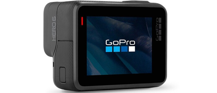 GoPro HERO6 s ekranom