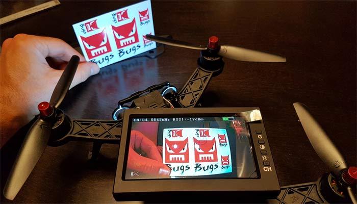 MJX Bugs 6 izobrazhenie kamery