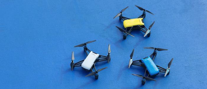 dji tello tsveta drona