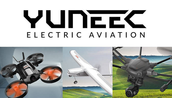 novinki kompanii Yuneec International na CES 2018