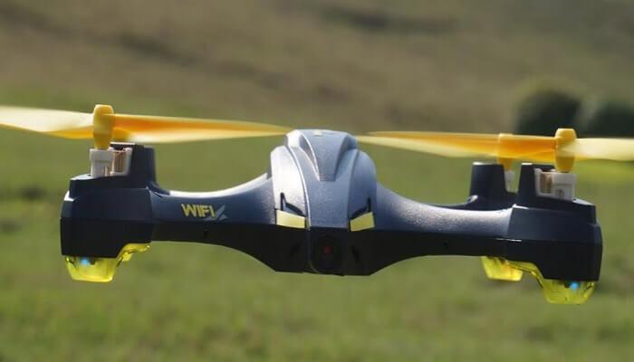 Hubsan H507 v polete