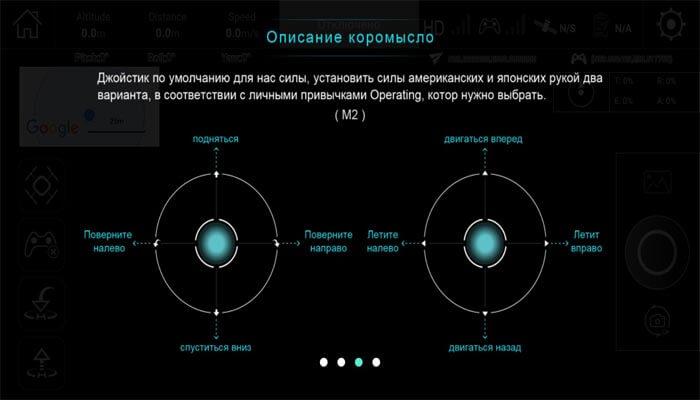 prilozhenie X Hubsan mode3