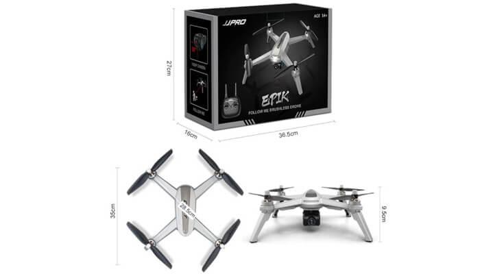 JJRC JJPRO X5 razmery drona