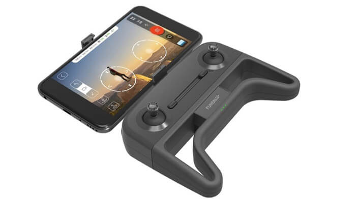 Xiaomi Funsnap iDOL Smart Folding Drone pult so smartfonom
