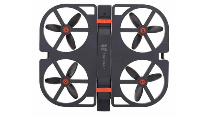 Xiaomi Funsnap iDOL Smart Folding Drone vid sverhu