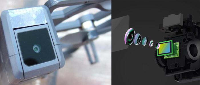 kamera kvadrokoptera Xiaomi Funsnap iDOL Smart Folding Drone
